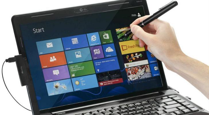 Как на ноутбуке сделать сенсорный экран