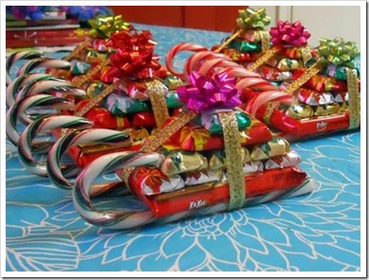 Подарки из конфет детям