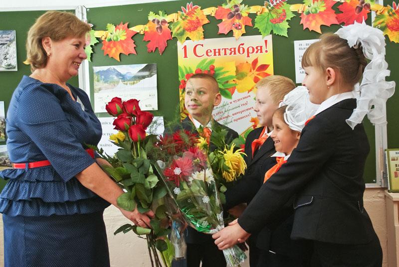 Какие цветы дарят на 1 сентября учителям