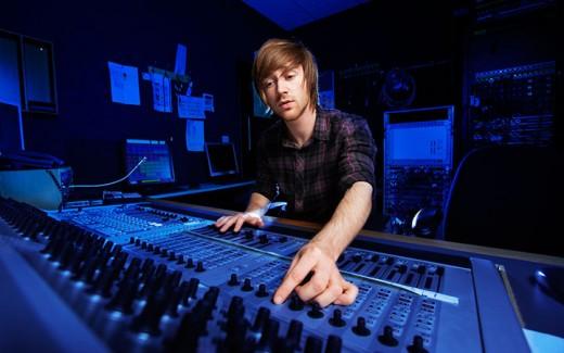 запись в студии