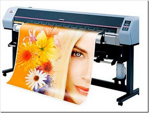 Различные типы чернил, используемых в широкоформатной печати