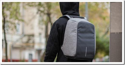 Полезные функции рюкзака, защищающего от воров
