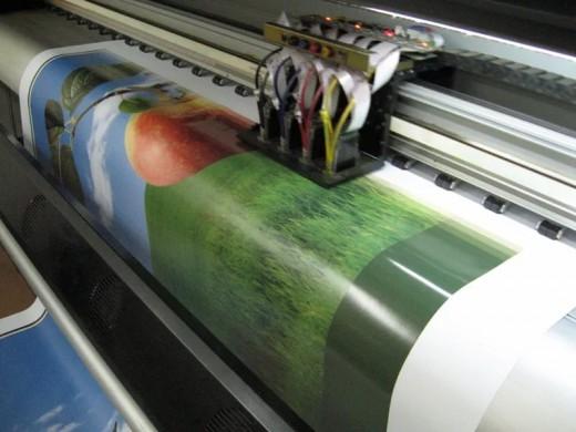 Что такое интерьерная печать