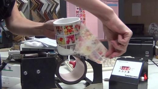 Как печатают на кружках
