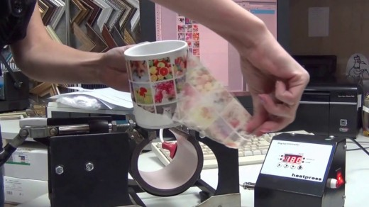 Как делают печать на кружках
