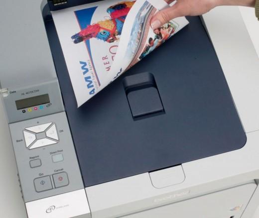 Как распечатать брошюру с двух сторон