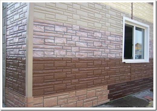 Фасадные панели из доломита