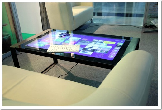 Технические аспекты интерактивного стола