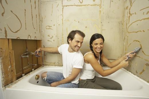 Сколько стоит ремонт ванны и туалета