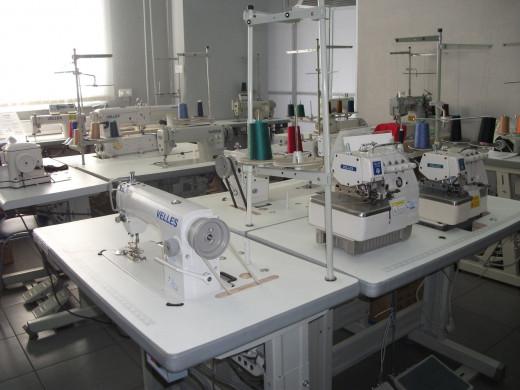 Виды промышленного швейного оборудования