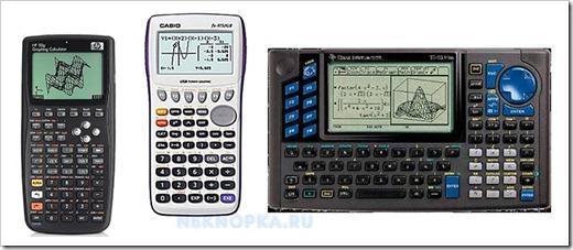 Набор приоритетных функций инженерного калькулятора