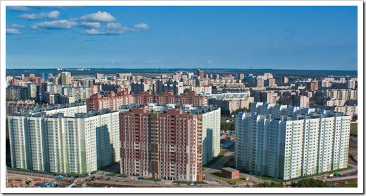 Самые доступные районы Санкт-Петербурга