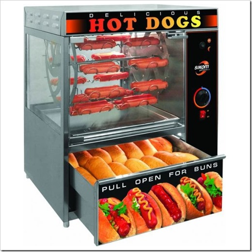Техническое устройство аппарата для приготовления хот-дога