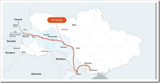 Транспортный коридор Гданьск-Одесса